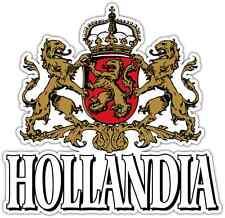 "Hollandia Beer Alcohol Car Bumper Window Locker Sticker Decal 4""X5"""