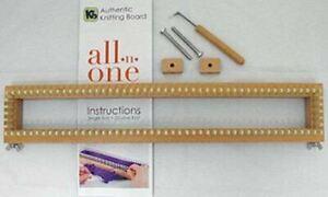 "KB All-n-One Loom 18"" 45cm All In One Knitting Board / Sock Loom / Round Loom"
