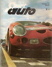 SPORT AUTO 11 1962 SPITFIRE GP USA 1000KM DE PARIS JAGUAR MK2 TOUR DE FRANCE