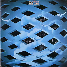 "LP 12"" 30cms: The Who: tommy, polydor E6"