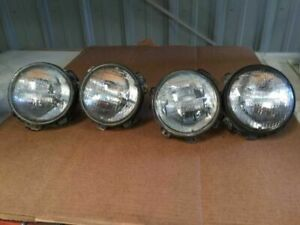 1979 Rolls Royce Silver Shadow II USED LEFT & RIGHT HEADLAMPS (INNER & OUTER)