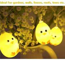Easter Garland Chicks Lights Eggs Decoration Easter Home Lighting Party Decor