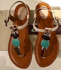 Authentic Clarks Artisan womens Indira Pompano sandals 7M