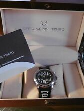 "OFFICINA DEL TEMPO ""REVOLUTION CHRONO"" NEUVE RARE MONTRE Vintage Full Boxed/2."