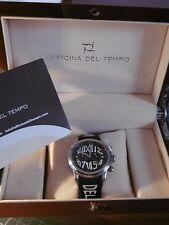 """RARE MONTRE Vintage- OFFICINA DEL TEMPO """"REVOLUTION CHRONO"""" NEUVE Full Boxed."""