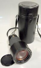 Tokina AT-X 80-200mm  /  2.8 SD Model Camera Lens w/Lens Cap mount and Case.