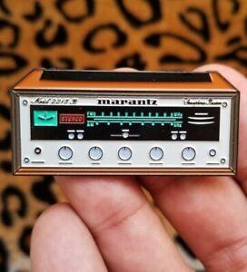 Limited Marantz 2215B Stereo Receiver Enamel Pins Limited