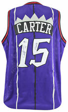 "Raptors Vince Carter ""Vinsanity"" Authentic Signed Purple Jersey BAS Witnessed"