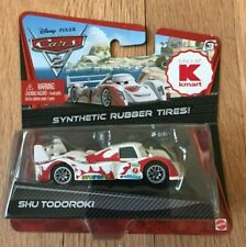 Disney Pixar Cars 2 Shu Todoroki Rubber Tires - New In Box
