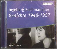 CD INGEBORG BACHMANN - liest poems 1948 - 1957new - original packaging