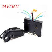 24/36V Dual Motors Electric Skateboard Long Controller w/ Remote ESC Substitute