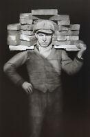 August Sander -  Handlanger (Fotografie um 1928) - Art Print ca. 30x40