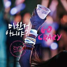 2PM - [GO CRAZY] 4th Album CD + 52p Photo Booklet K-POP Sealed JYP
