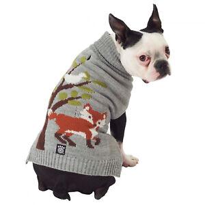 Petrageous Dog Sweater Acadia Fox Woodland Winter Christmas XS S M XL