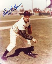 **Bob Feller Signed Photo Cleveland Indians PSA/DNA**