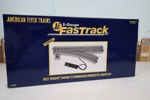 American Flyer S Gauge 6-49886 R27 Right Hand Fast Track Command Remote Switch