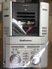 Sony Hcd Md515 Minidisc Deck Tuner Amplifier Not Reading Disc
