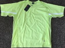 Nwt Nike Court Tennis Top polo shirt volt yellow L cool motion Federer Agassi