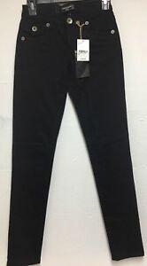 Underground Soul Juniors Skinny Fit Jeans Black  Size 1