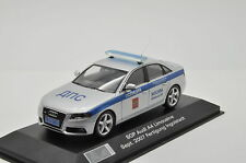 Rare !! Audi A4 Russian police Custom Made 1/43