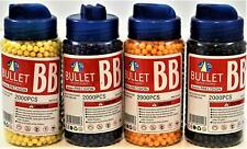 BB Bullet 6 mm Precision Airsoft BB's 2000 Pieces Colors May Vary JD Q New