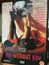 Me Without You region 2 DVD (2001 Anna Friel / Michelle Williams drama movie)