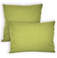 Aw15a Moss Lime Green High Quality 12oz Cotton Cushion Cover/Pillow Case Custom