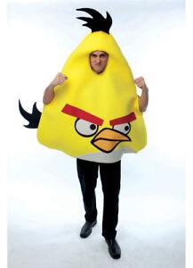 Angry Birds Yellow Bird Adult Men Costume