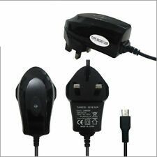 UK MAINS CHARGER FOR MICRO USB ANDROID MODELS