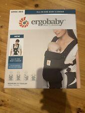 Ergobaby Omni 360 Baby Carrier - Onyx Black