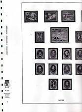 Lindner formulari DDR 1949 -90 in 6 günen Anello legamenti-NP 789,-- € (p001)