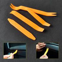 4PCS Car Radio Clip Panel Trim Audio Removal Dash Door Installer Pry Plastic Kit