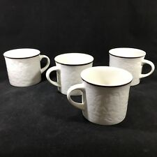 Set of 4 Royal Doulton Lambethware Coffee Mugs Ting LS 1012 Made in England