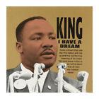 "Steve Kaufman Signed ""MLK"" Limited Edition 24x24 Hand Pulled Silkscreen #9/50"