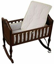 Baby Crib Bedding Set Portable Crib Bedding Minky Diamond Ecru