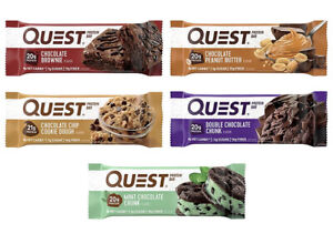 12 Ct Quest Nutrition Protein Bars CHOCOLATE LOVERS Variety Pack BB 08/21/21