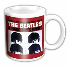 The Beatles Mug. A Hard Days Night Cup - Coffee Tea Kitchen - Lennon Mcartney