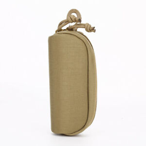 Tactical Military Sunglasses Case Molle Pouch Storage Bag Carry Eyeglass Glasses