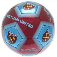 Official WEST HAM UNITED FC Football  Size 5 BALL 31 Panel Hammers Gift