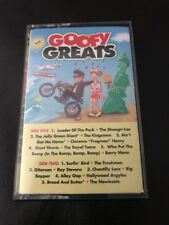 VINTAGE 1992 K-TEL CASSETTE TAPE GOOFY GREATS SONGS 30354 GREAT CONDITION