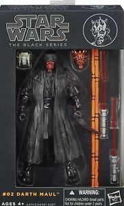 Hasbro The Black Series Star Wars Darth Maul Actionfigur #02 16cm selten