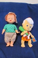 Vintage Pebbles and Bamm Bamm Flintstone Dolls