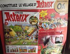 Construisez Le VILLAGE d'ASTERIX n° 1 figurine +maison et Palissade  Hachette