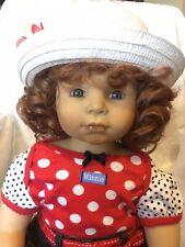 "Zapf Designer Collection Girl Doll ""Angelina"""