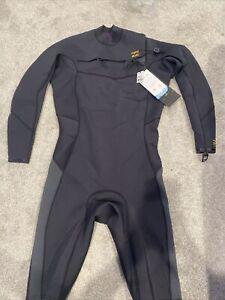 New  BILLABONG Men's 202 ABSOLUTE COMP Springsuit  Antique Black XL