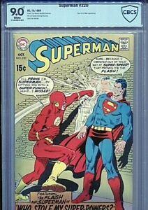SUPERMAN 220 CBCS 9.0 FLASH/SUPERMAN 1969