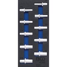 """Steckschlüssel-Satz ZOLL Antrieb 12,5mm (1/2"""") Einsätze tief Nüsse 3/8""""-15/16"""""""