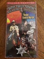 Happy Trails Theatre: The Ranger & the Lady/Don't Fence Me In (VHS) SEALED, RARE
