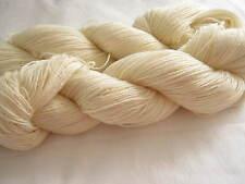 100 g Wolle   100% Wolle  zum färben 4 fach LL 420m