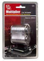 Mercury 660.797UK 12Vdc Cigar Lighter Dual Adaptor